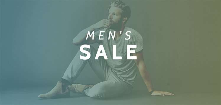 70% Off Everything for Men