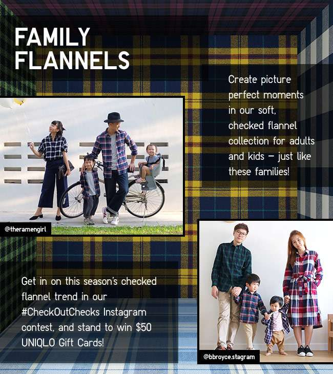 Check out Checks! Flannel Collection