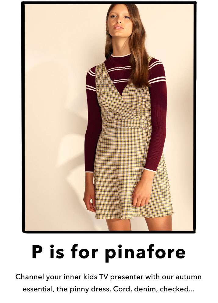 P is for pinafore - Shop Pinafores