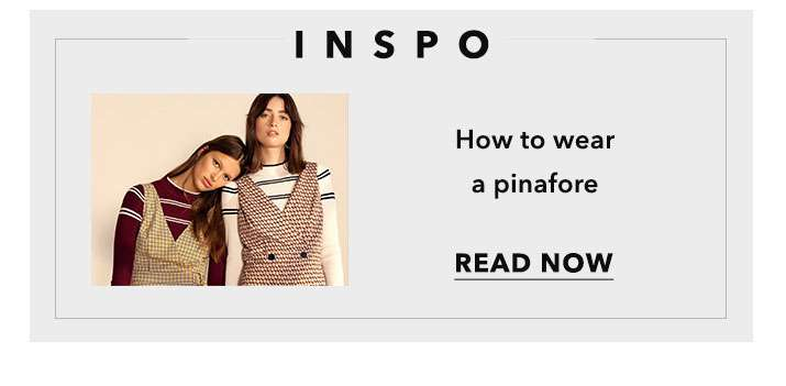 How To wear a Pinafore - Read Now