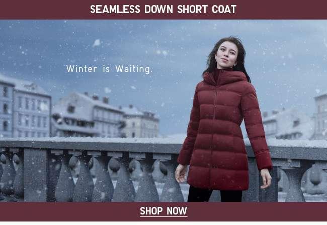 Women's Seamless Down Short Coat