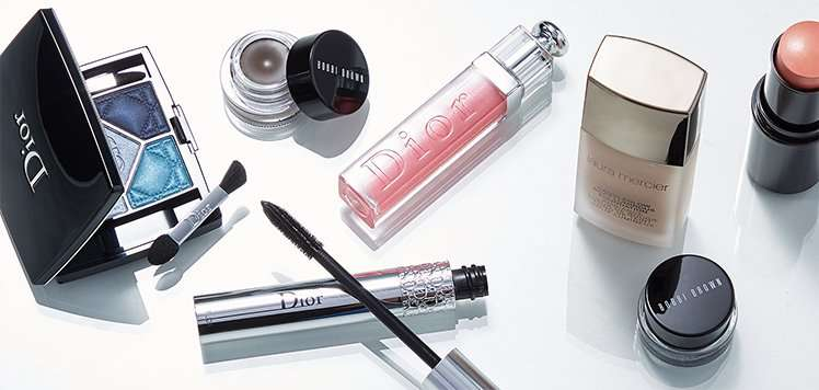 Laura Mercier, Bobbi Brown Cosmetics & More