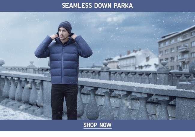 Men's Seamless Down Parka