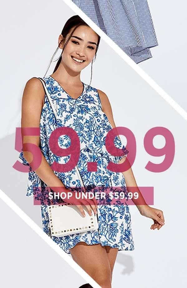 Shop Under $59.99
