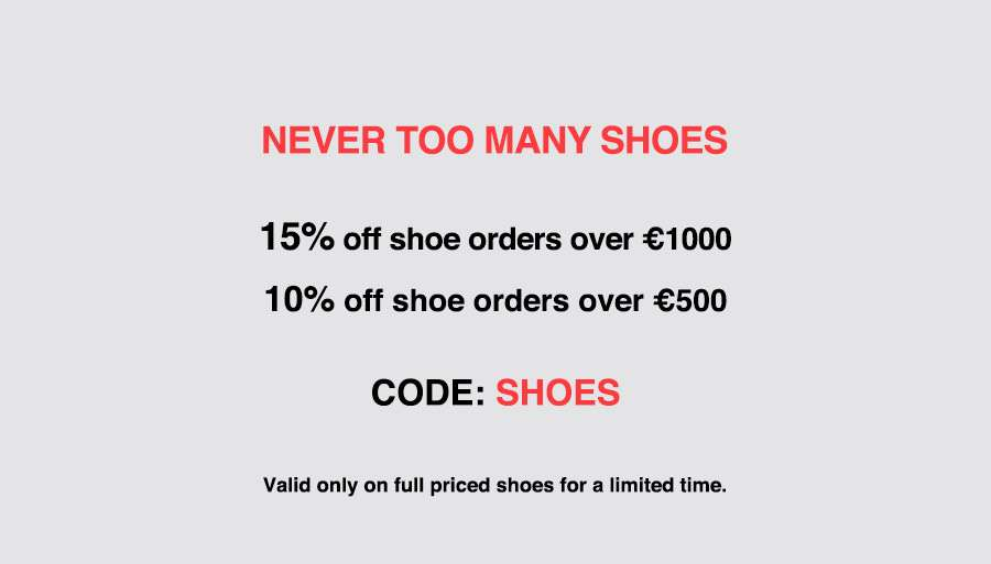 Let your shoes do the talking