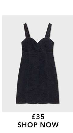 Black Sweetheart Mini Dress