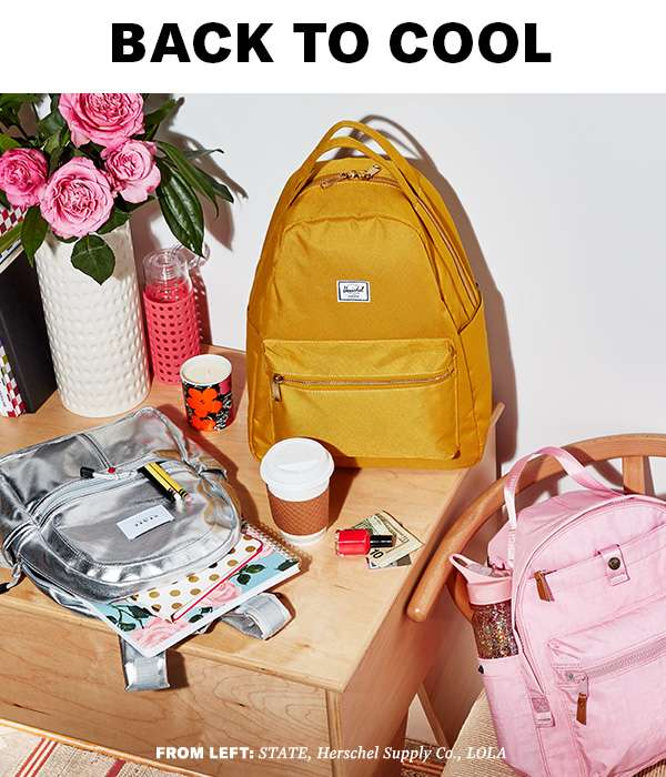 High-style, high-function backpacks (that fit everything).