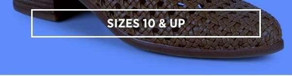 Sizes 10 & Up