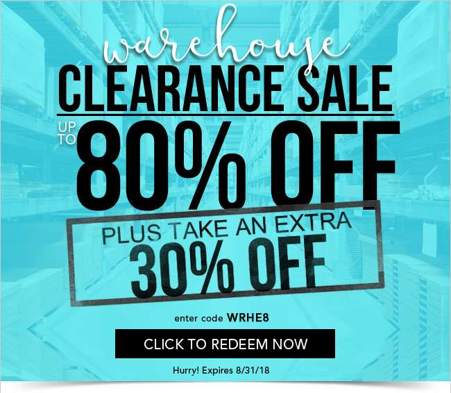 Clearance Sale up to 80% Off