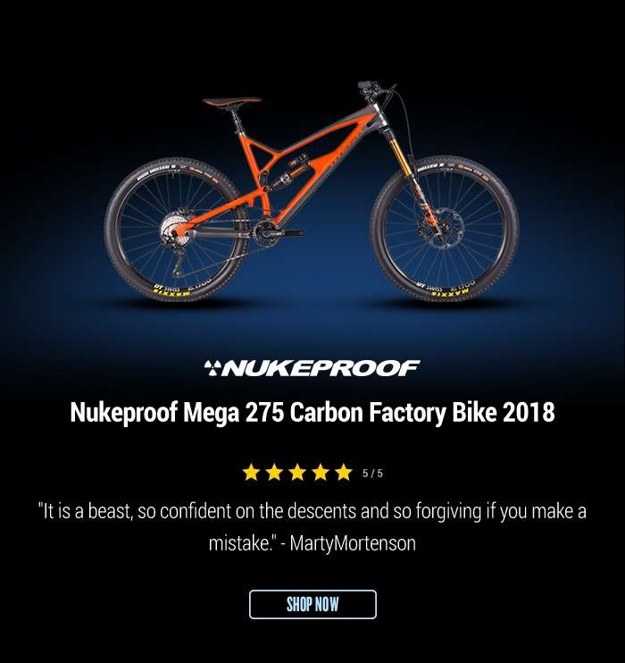 Nukeproof Mega 275 Carbon Factory Bike 2018