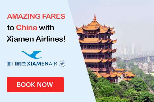 Beautiful destinations at great prices with Xiamen Airlines