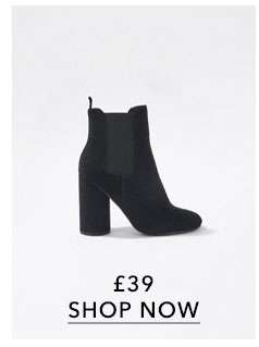 ASHLEY High Chelsea Ankle Boots