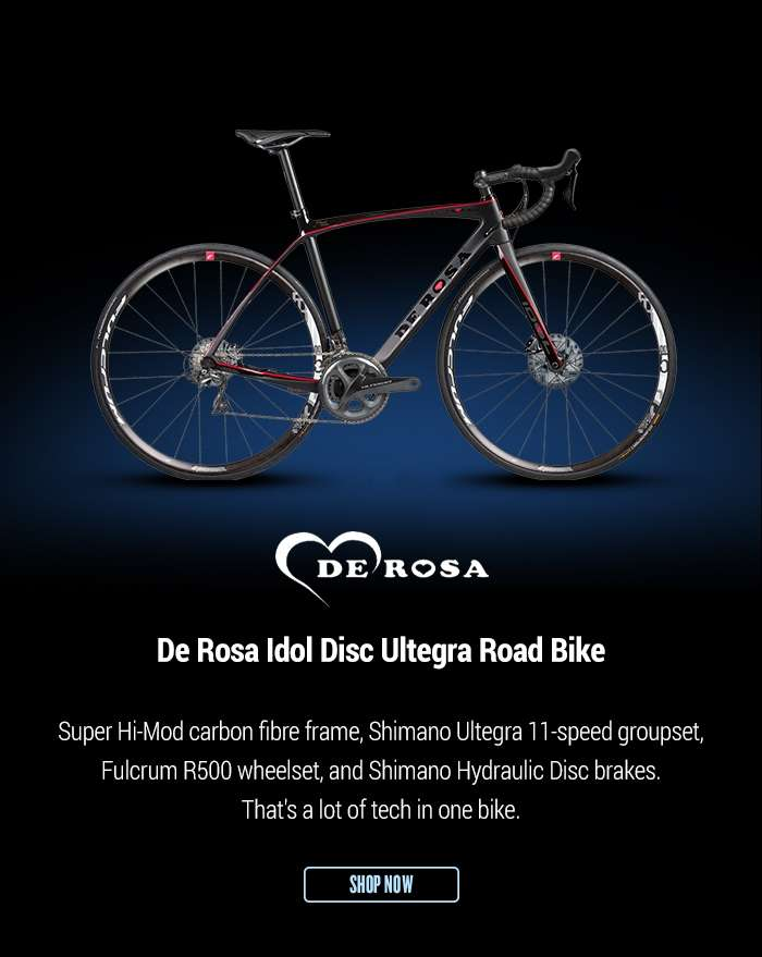 De Rosa Idol Disc Ultegra Road Bike
