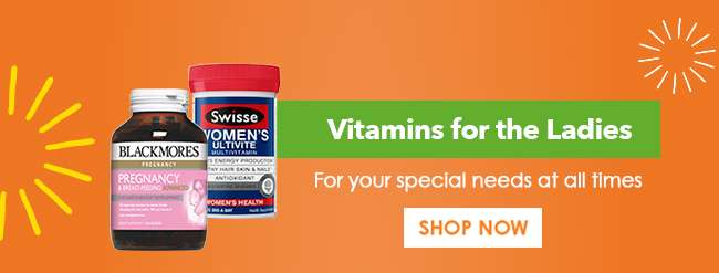 Shop Vitamins for the Ladies here!