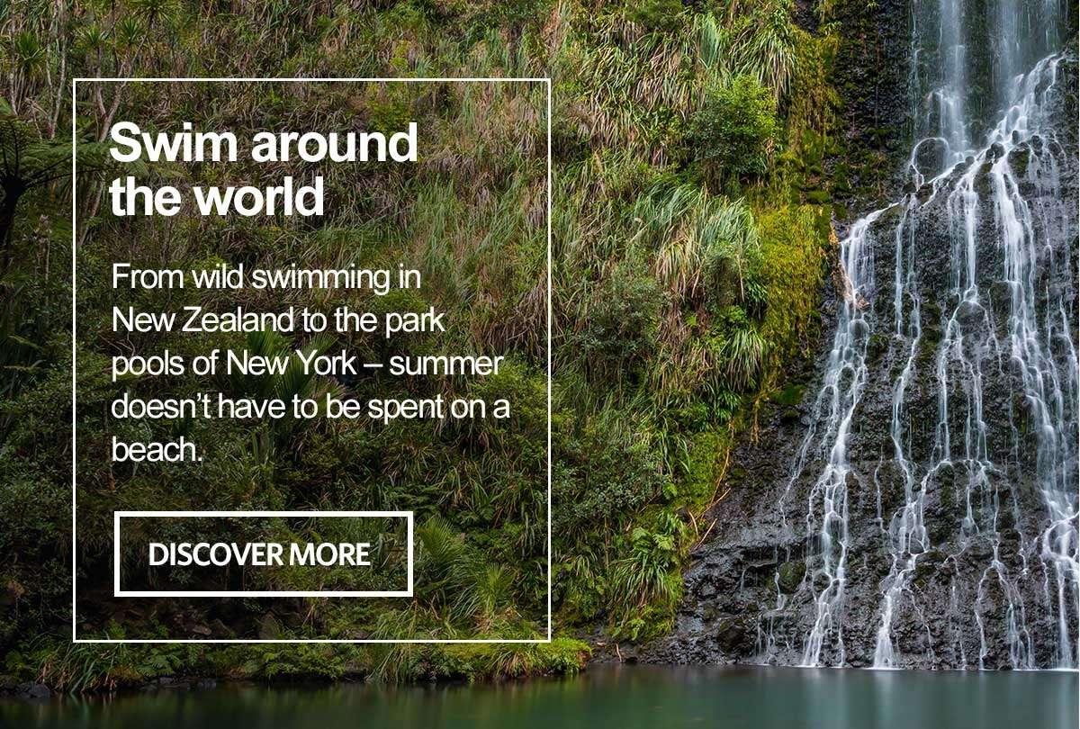 Swim around the world