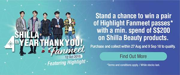 4th Shilla Thank you Fanmeet! FIND OUT MORE