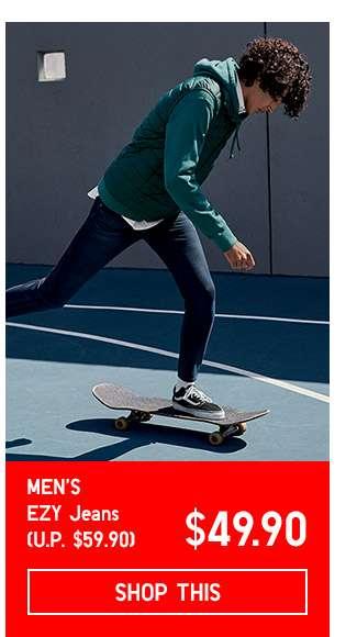 Limited Offer! Men's EZY Jeans at $49.90