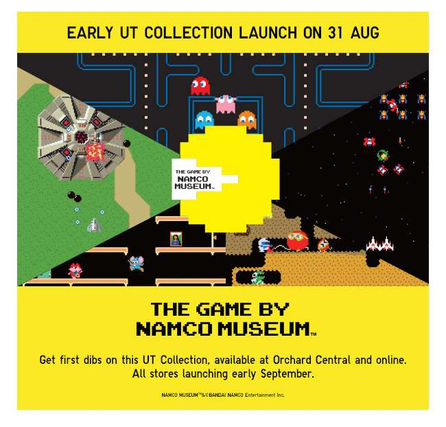 Early UT Launch on 31 Aug   The Game by Namco Museum UT Collection