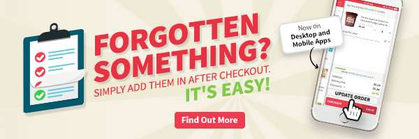 Forgot something? Now you can add items to your order even after checkout!