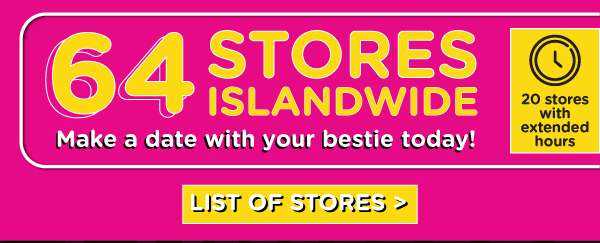 Click for list of stores!