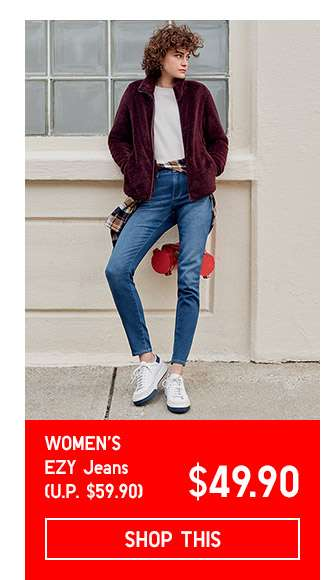Limited Offer! Women's EZY Jeans at $49.90
