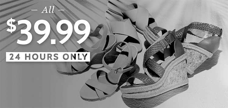 The Sandal Sale