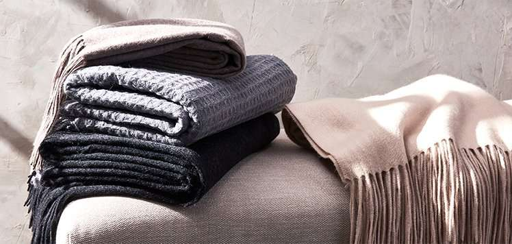 Fall-Ready Cashmere Throws & More