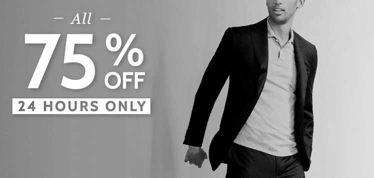 Everything on Sale: Men's Edition