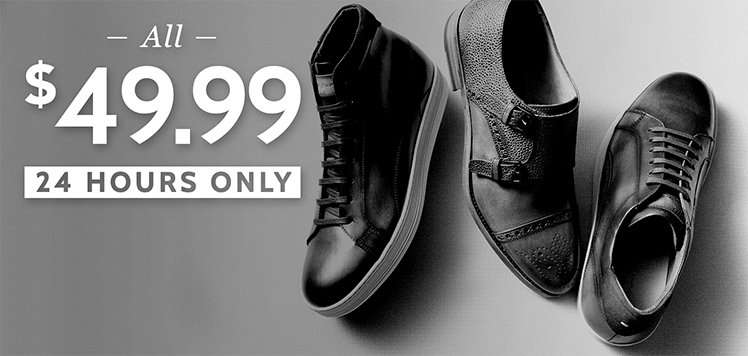 The Men's Shoe Sale