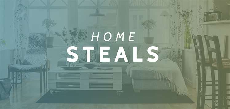 Up to 80% Off Home
