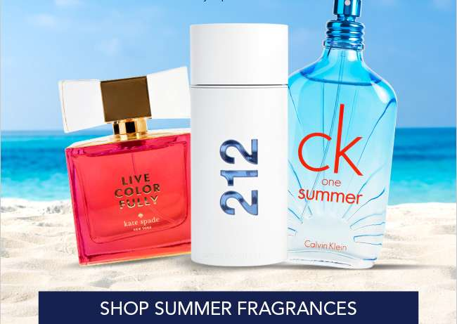 Shop Summer Fragrances