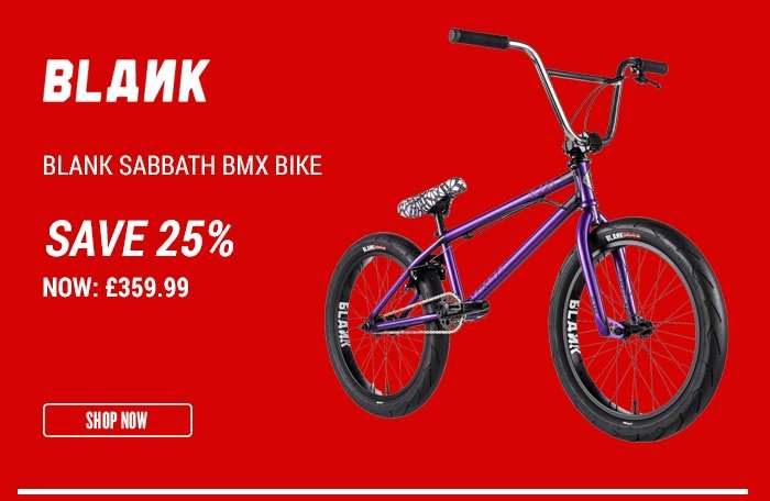 Blank Sabbath BMX Bike