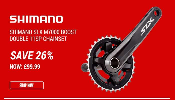 Shimano SLX M7000 Boost Double 11sp Chainset
