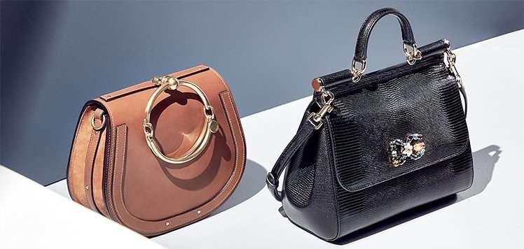 Luxe Handbags: Shop by Shape