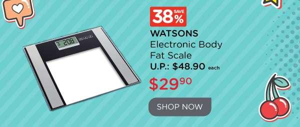 Watsons Electronic Body Fat Scale