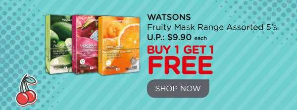 Watsons Fruity Masks