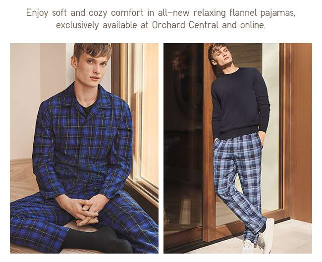 Enjoy the soft and cozy comfort in all-new relaxing flannel pajamas.