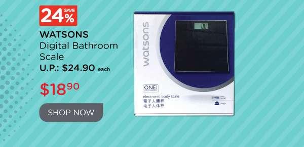 Watsons Digital Bathroom Scale