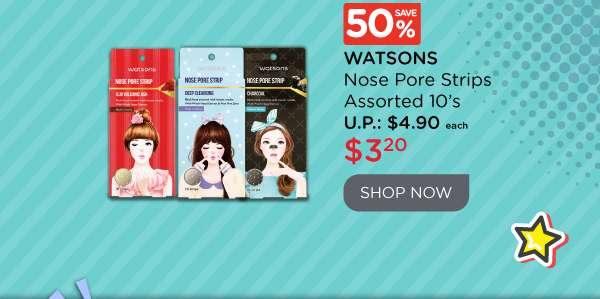 Watsons Nose Pore Strips