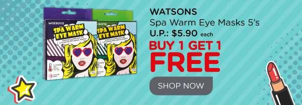 Spa Warm Eye Mask