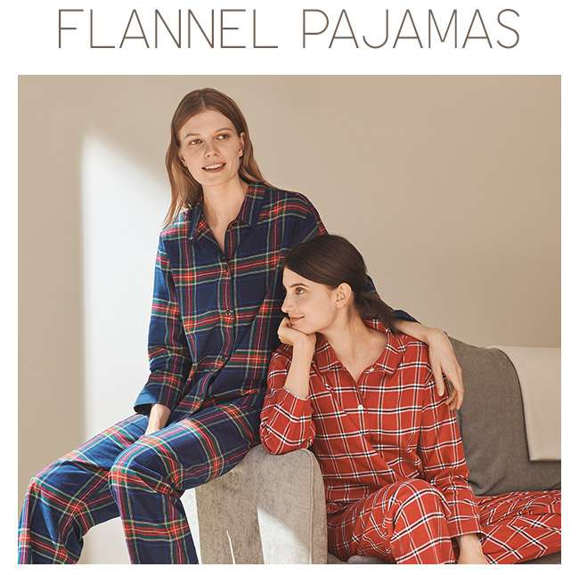 New Arrivals! Flannel Pajamas