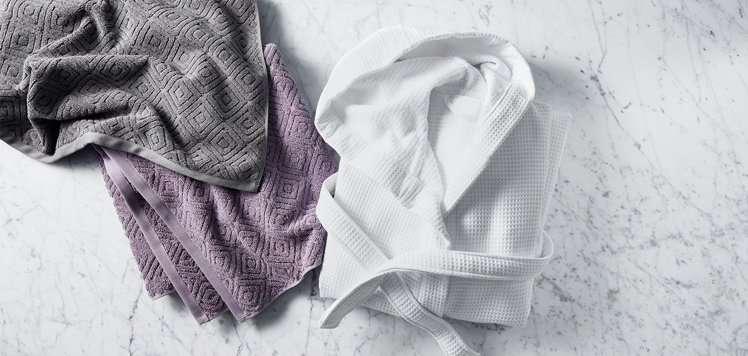 Plush Towels & Robes