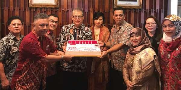 Hosted Indonesian Independence Day celebration.
