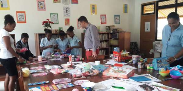 Berjaya Beau Vallon Adopted School.