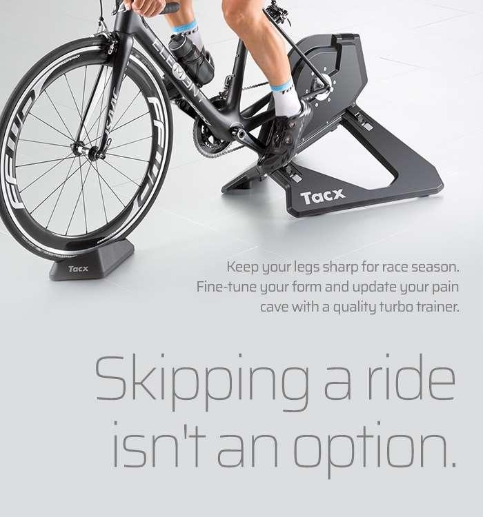 Skipping a ride isn't an option.
