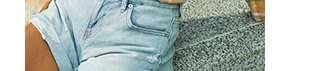 Women's Denim Boyfriend Shorts