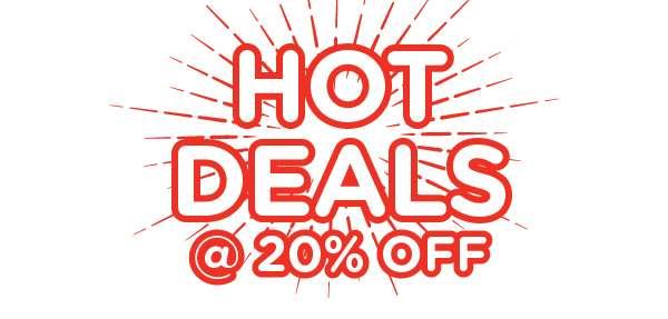 Hot 20% Off Deals