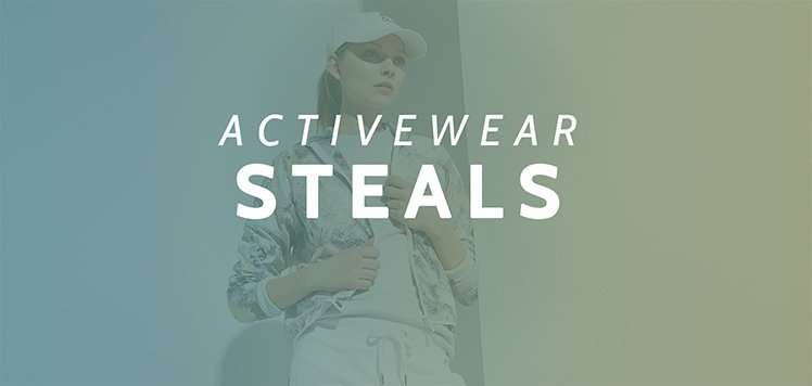 Up to 65% Off Activewear
