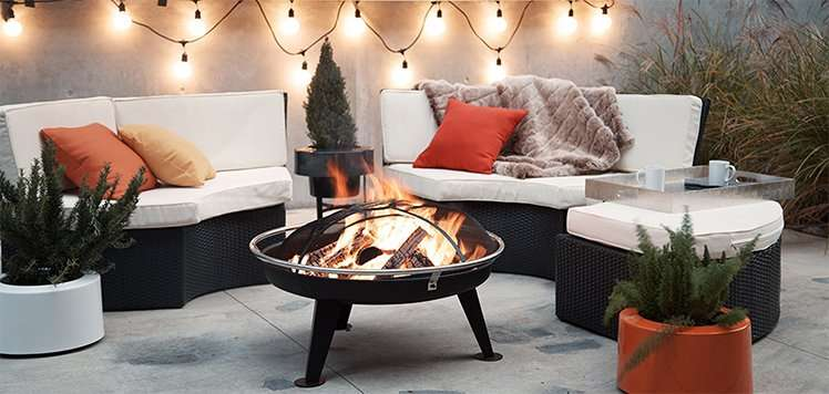 The Fall Home: Outdoor Furniture