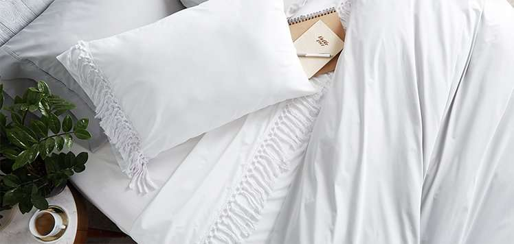 The Fall Home: Designer Bedding